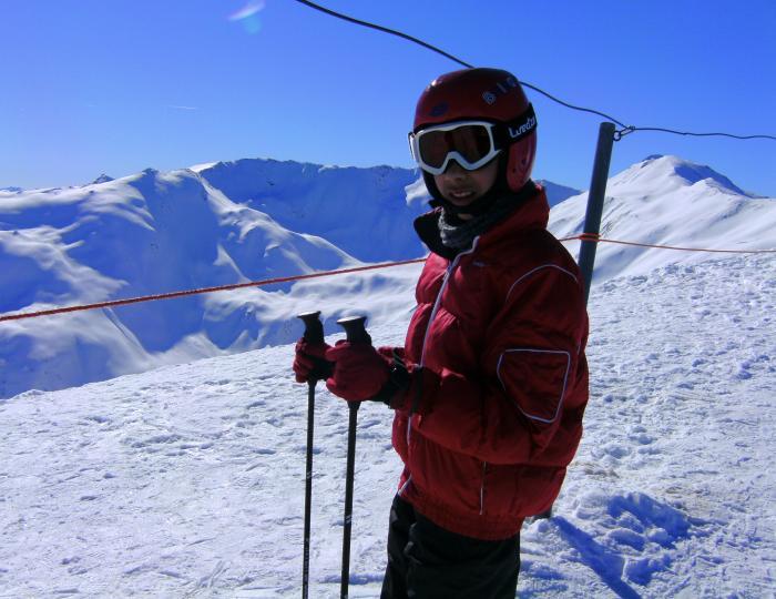 Le ski aux Orres
